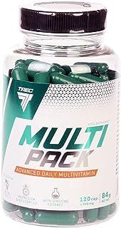 Trec Nutrition MULTIPACK | Multivitaminas y multiminerales | Antioxidantes Para la salud y el bienestar general | Vitaminas Minerales (120 Cápsulas)