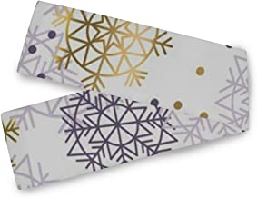 Christmas Snowflakes Table Runner 90 x 13 Inch for Dinner Party Events