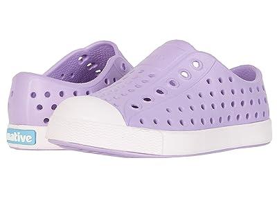 Native Kids Shoes Jefferson (Toddler/Little Kid) (Lavender Purple/Milk Pink) Girls Shoes