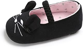 Baby Girls Soft Sole Shoes Cute Cat Ears Mary Jane Sneakers