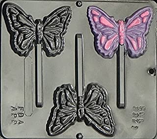 Butterfly Lollipop Chocolate Candy Mold 3371
