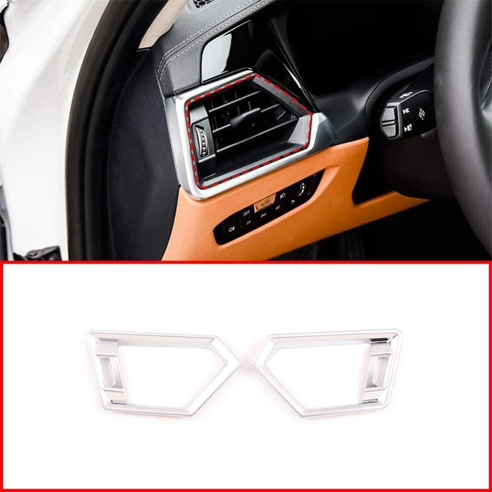 Dallas Mall Apply to Silver Max 74% OFF ABS Car Interior Air Side Vent Outlet Condition