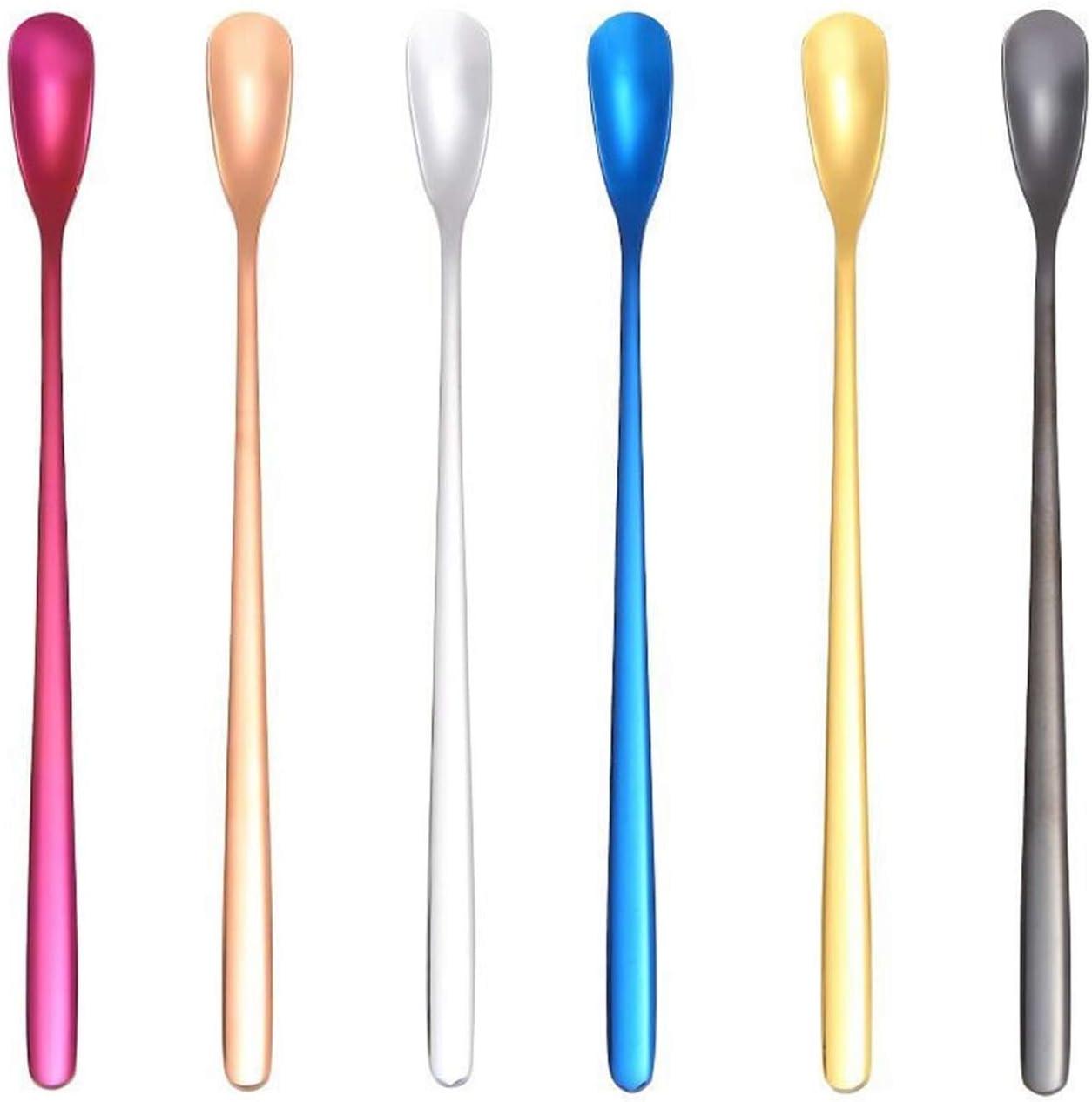 Dessert Japan Maker New Spoon Long Handle Stirring Stainless Arlington Mall Steel Tea Ice