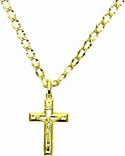 """18/"""" Fille Femme Acier Inoxydable Mini Coeur Petite Croix collier pendentif Hot 13 g"""