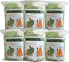 【令和2年度産新刈り】牧草市場 スーパープレミアム チモシー 1番刈り 牧草 3kg (500g×6パック)(うさぎ・モルモットなどの牧草)