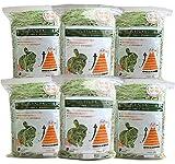 【令和元年度産新刈り】牧草市場 スーパープレミアム チモシー 1番刈り 牧草 3kg (500g×6パック)(うさぎ・モルモットなどの牧草)
