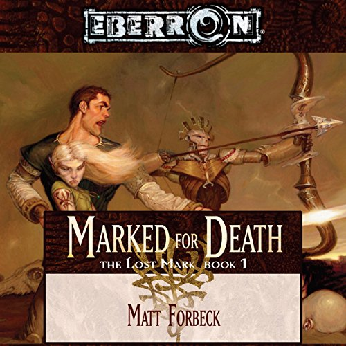 Marked for Death audiobook cover art