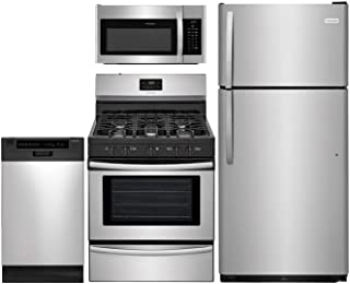 Frigidaire 4-Pcs Kitchen Package with FFTR1821TS 30