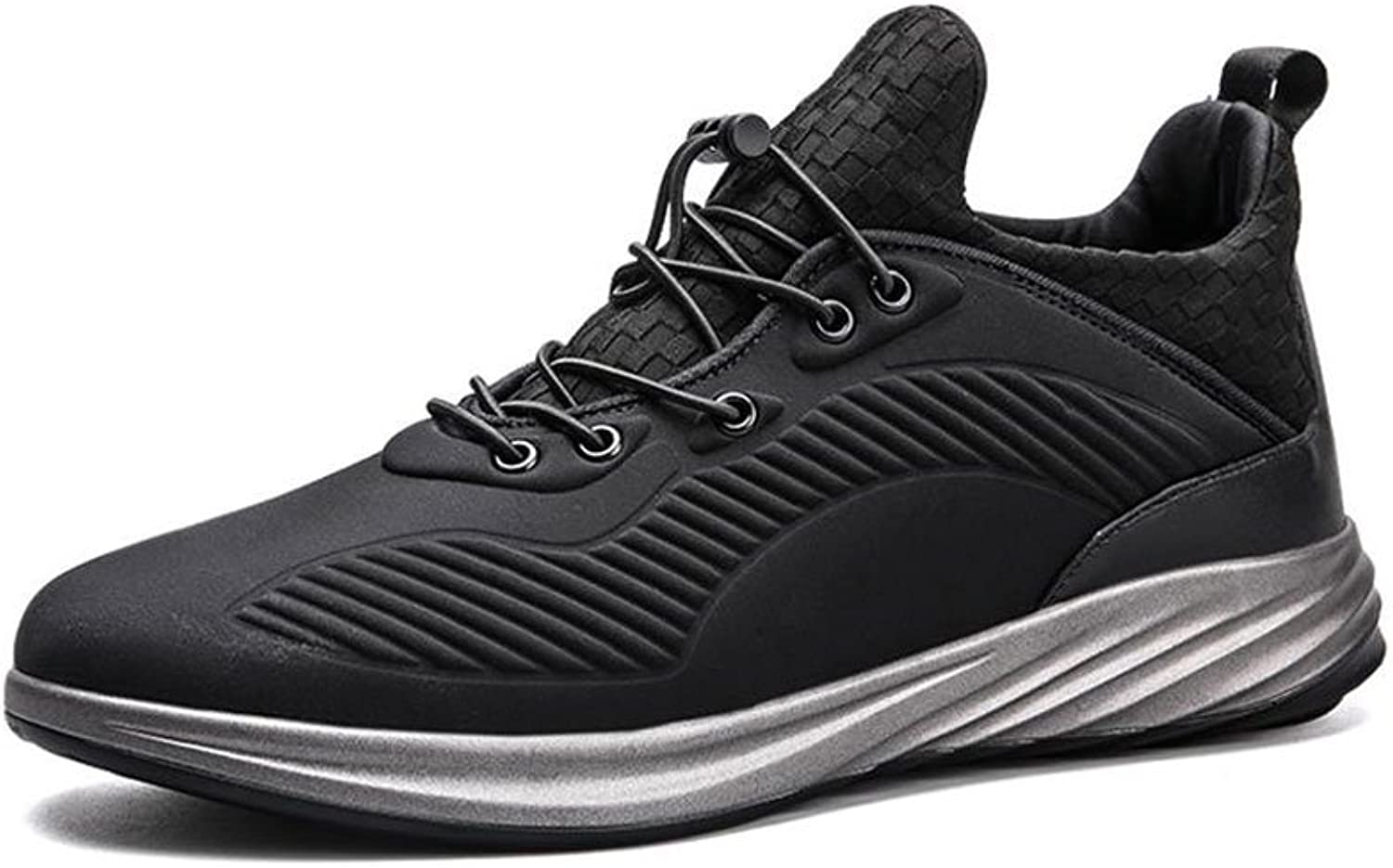 HUL Men's shoes shoes Outdoor Sports shoes Male Casual Wild Heighten Running shoes Non-Slip Breathable Casual