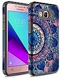 Galaxy On5 Case, Rosebono Hybrid Dual Layer Shockproof Hard