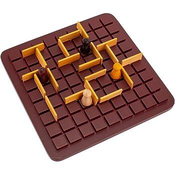 [ギガミック] Gigamic コリドール ミニ QUORIDOR MINI テーブルゲーム GDQO 3.421271.300441 木製 ボードゲーム おもちゃ 知育 玩具 子供 脳トレ ゲーム フランス [並行輸入品]
