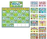 Carson Dellosa Complete Calendar Kit Bulletin Board Set (110113), Multi