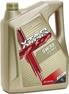 CEPSA 513963077 5W30 C2 DPF 5L - Lubricante Sintético para Vehículos Gasolina y Diésel