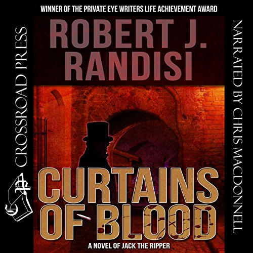 Curtains of Blood audiobook cover art