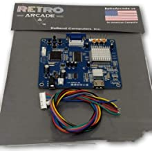 RetroArcade.us ra-cga-vga-convertx3 Arcade Game RGB-cga-EGA-yuv to hdmi Arcade hd-Converter PCB converts Older Arcade Systems to hdmi Monitors