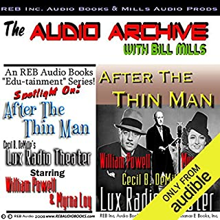 After the Thin Man audiobook cover art