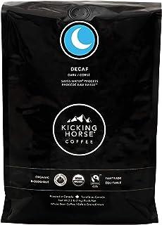 Kicking Horse Coffee, Decaf, Swiss Water Process, Dark Roast, Whole Bean, 2.2 Pound - Certified Organic, Fairtrade, Kosher...