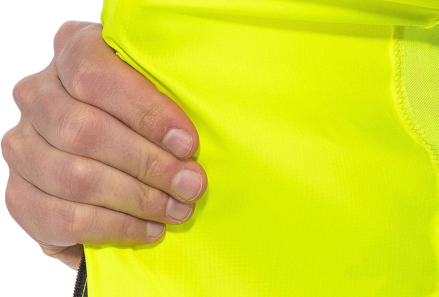 Salming Skyline Weste Herren Yellow 2020 Laufweste