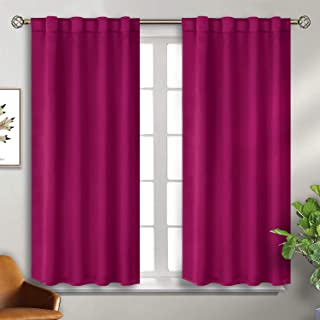 BGment Rod Pocket and Back Tab Blackout Curtains for...