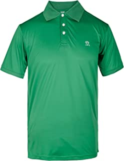 Men's Golf Polo Shirt Quick Dry Athletic Fit Tech Performance Lightweight Wicking