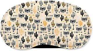 Raccoon Bandit Wild West Orange - Sleeping Mask - Sleeping Mask