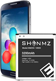Galaxy S4 Battery,Upgraded 3200mAh Li-ion Replacement Battery for Samsung Galaxy S4 EB-B600BE,AT&T I337,Verizon I545,Sprint L720,T-Mobile M919,R970,I9500,I9505,LTE I9506 [3 Year Warranty]