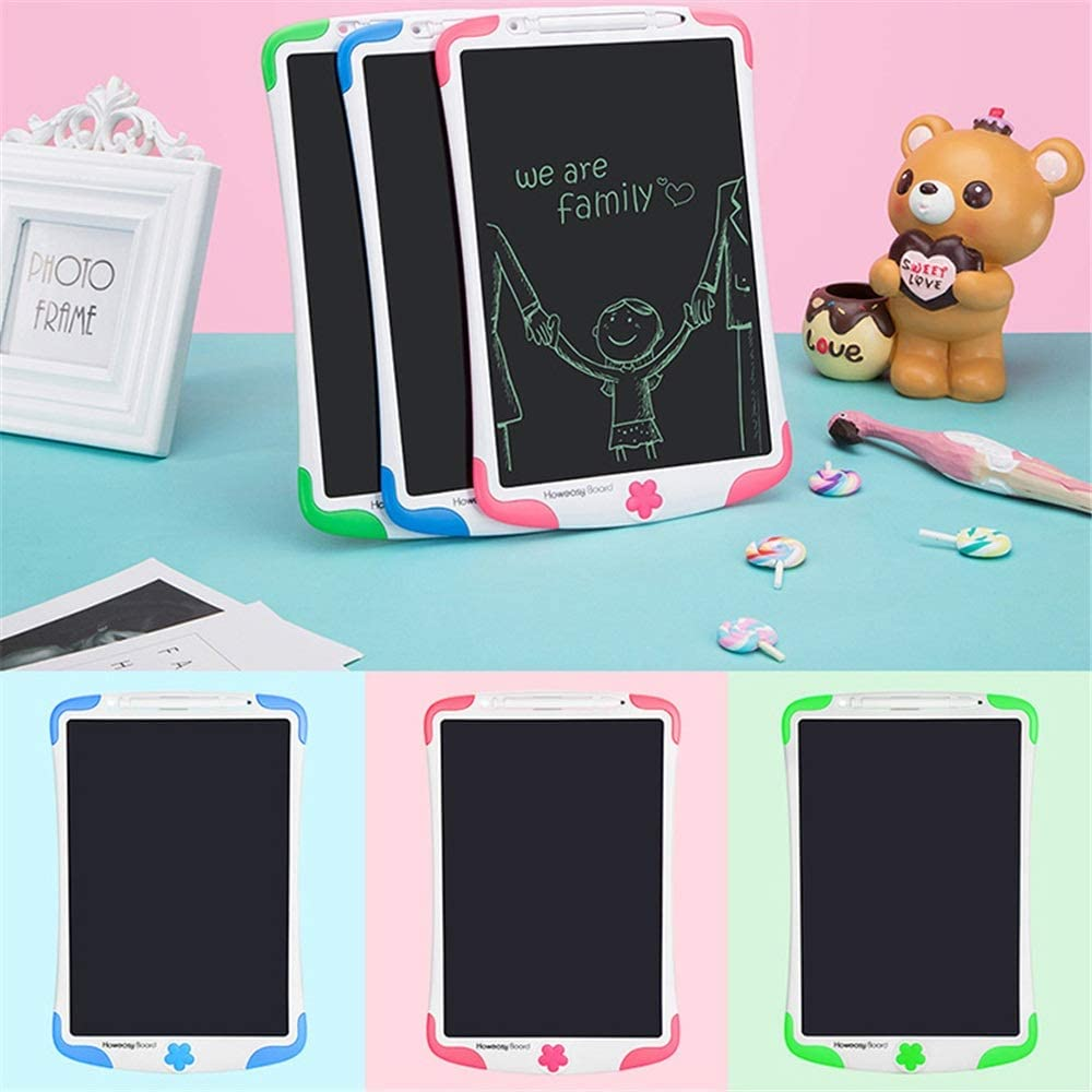 Teerwere LCD Tablet 8.5 Inches Childrens LCD Electronic Tablet Puzzle Graffiti Painting Early Education Writing Drawing Board Portable LCD Writing Tablet LCD Writing Tablet Board