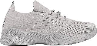 Fishoney Chaussures De Course Femmes Casual Chaussures De Marche Respirantes Sport Baskets Athlétiques Gym Tennis Slip on ...