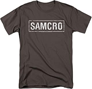 Sons of Anarchy Samcro T Shirt & Stickers