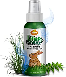 Boltz Antibacterial Rabbit Litter Spray with Lemon Grass and Neem, 200 ml
