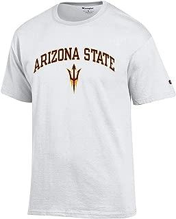 Elite Fan Shop NCAA Men's T Shirt Arch Over White