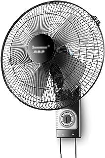 Wall Fan ALY® 16 Pulgadas Ventilador Montado En La Pared Control De La Cuerda Sorteo De Enfriamiento MecáNico, Ajuste De La Velocidad 3-Viento, 55w Casa Ventilador Silencioso