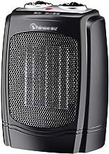 Calefactor Eléctrico Calefactor Eléctrico Calefactor Cerámico Portátil 1800W Ajuste de 3 Engranajes con Oscilación Automática, Protección contra Sobrecalentamiento y Volcado, para Hogar y Oficina
