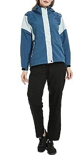 [アオキ アウトドア ]レインウェア レディース ゴルフレインウェア レインスーツ 上下セット レインコート マウンテンパーカー 防水 軽量 ウインドブレーカー 収納袋付き