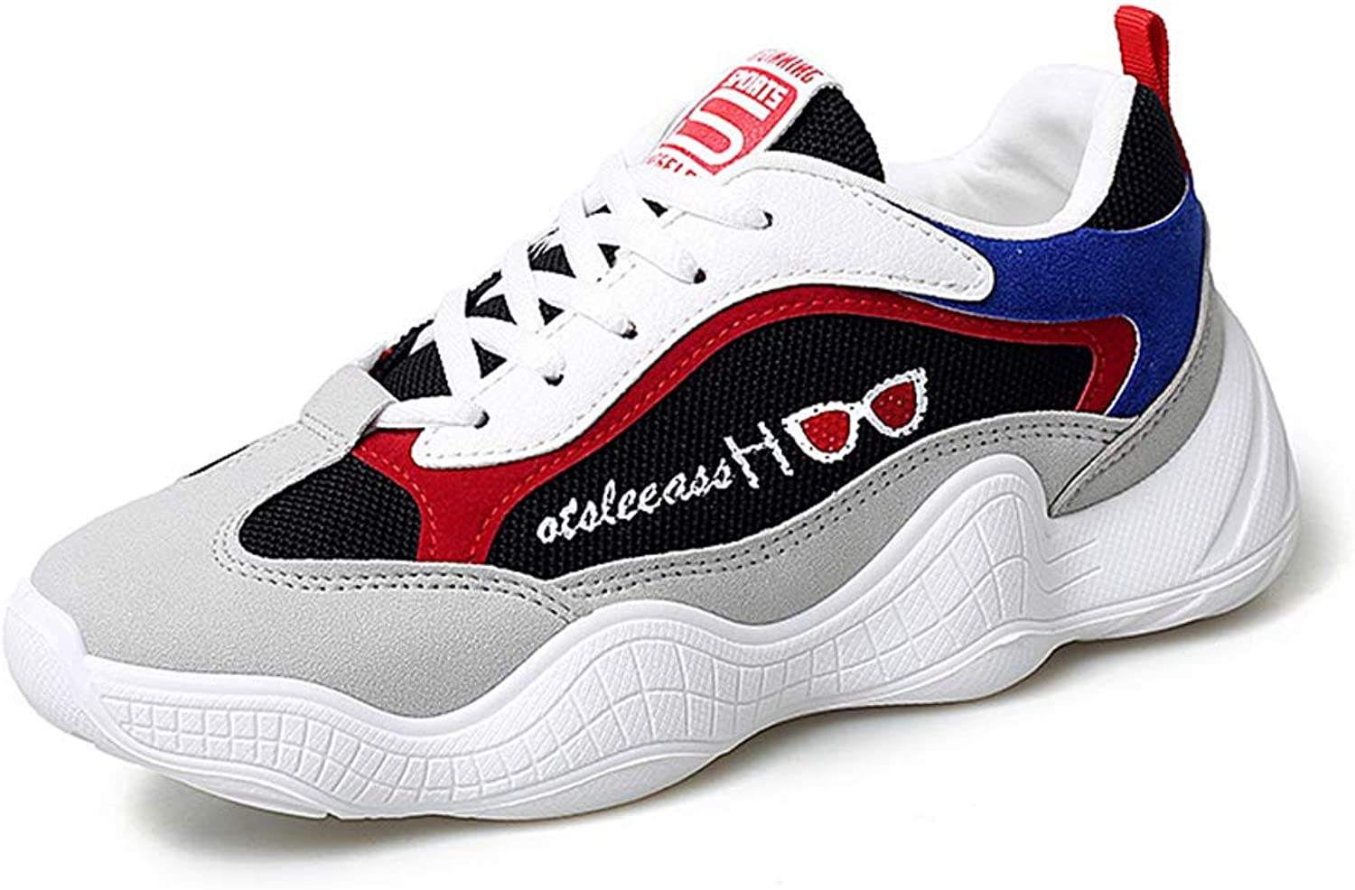 Women's colorblock Chunky Retro Dad Sneaker shoes Trainers Gym shoes