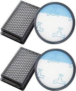 T/&R 2pcs Filtros Espuma para Rowenta Compact Power Cyclonic RO3753EA RO3718EA RO3724EA RO3731EA RO3786EA RO3798EA Aspiradoras