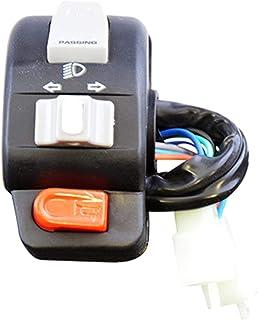 Compatible avec//Remplacement pour 50-125 AGILITY//SUPER 8 RETROVISEUR GAUCHE 0640-1234
