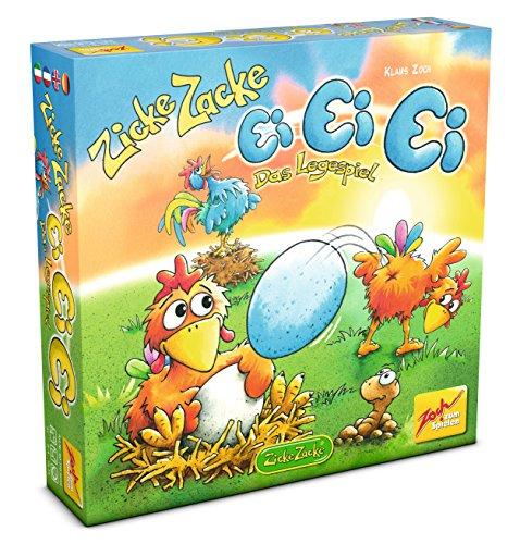 Zoch 601105056 Zicke Zacke Ei, Kinderspiel
