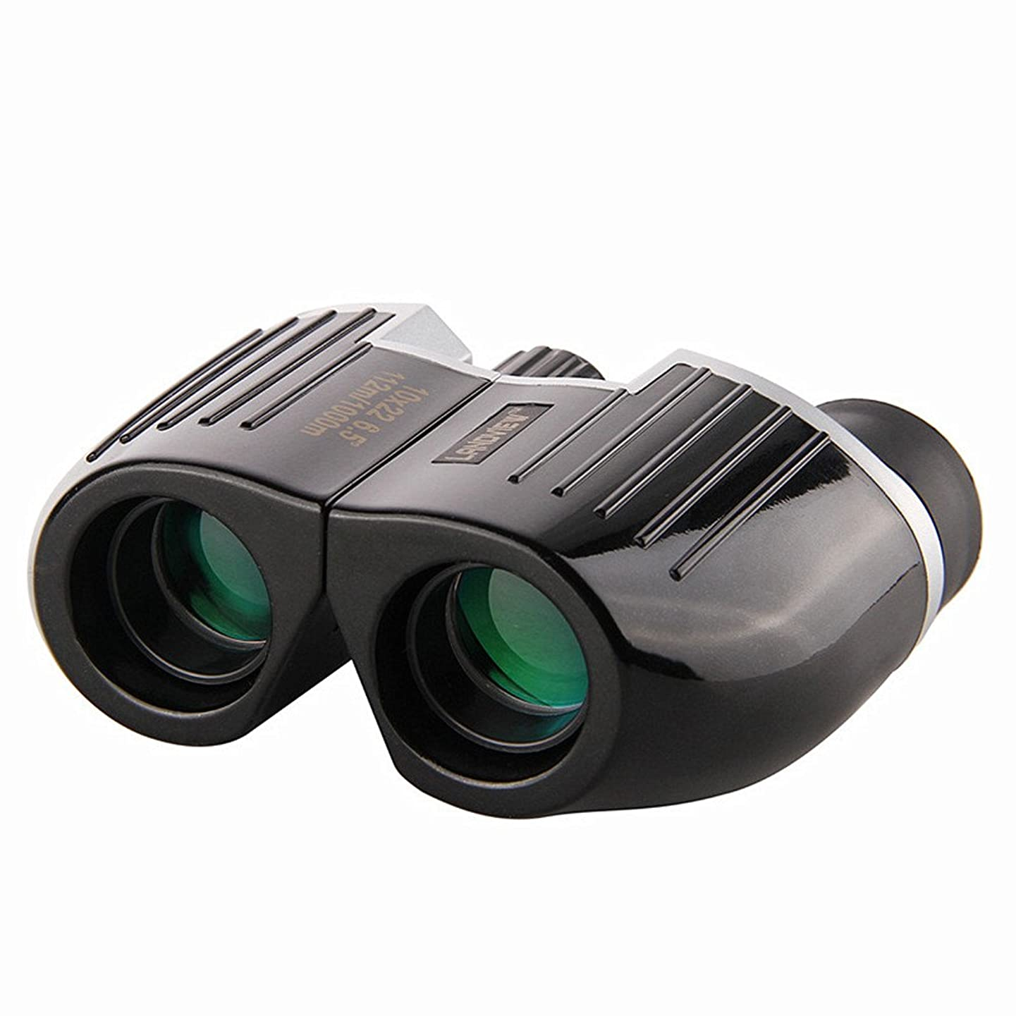 MAODATOU Binoculars 10x22 HD Green Film Lens Bird Watching Telescope High Magnification Binoculars Outdoor Use for Bird Watching,Hunting,Sports Events,Travelling