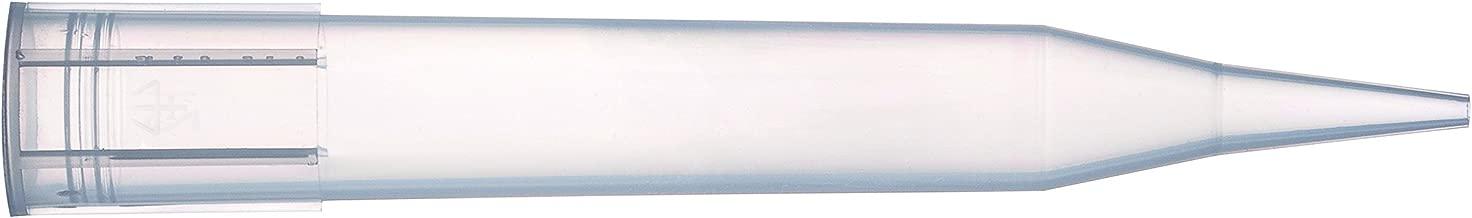 Gilson F161370 Diamond Tips Tipack D5000, Non-sterile, Volume Range: 1-5 mL, Polypropylene (Pack of 600)
