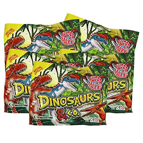 Dinosaurs & Co Super Maxxi Edition - Sammelfiguren - 5 Tüten