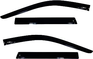 Auto Ventshade 94252 Original Ventvisor Side Window Deflector Dark Smoke, 4-Piece Set for 2011-2018 Jeep Grand Cherokee