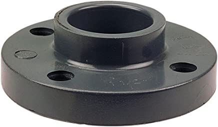 Schedule 80 Thread on One End 4 Length Nipple 1//4 NPT Male x Socket Gray Spears 188N Series PVC Pipe Fitting