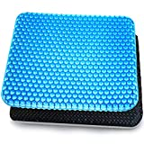 Dprofy Breathable Gel Seat Cushion - Double Layer Honeycomb Office Chair Cushion, Car Seat...