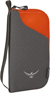 Osprey Packs Document Zip, Poppy Orange, One Size