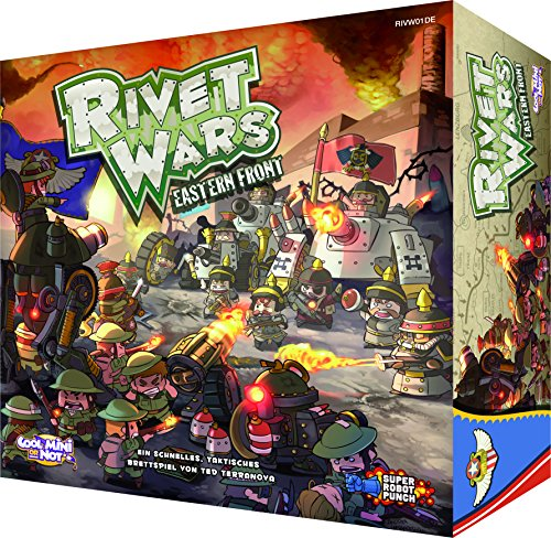 Cool Mini or Not 002557 - Rivet Wars, Familien Strategiespiele