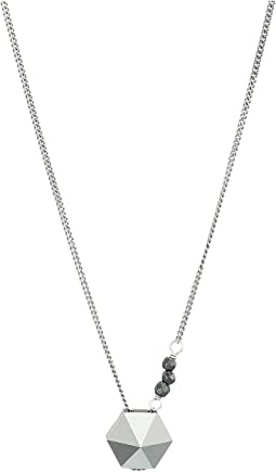 Short Necklace with Swarovski Crystal