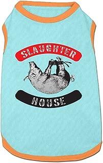 Jmirelife Slaughterhouse Logo Lovely Pet Dog Puppy Cat Kitten Polo T-Shirt Clothes Coats Outfit Tops