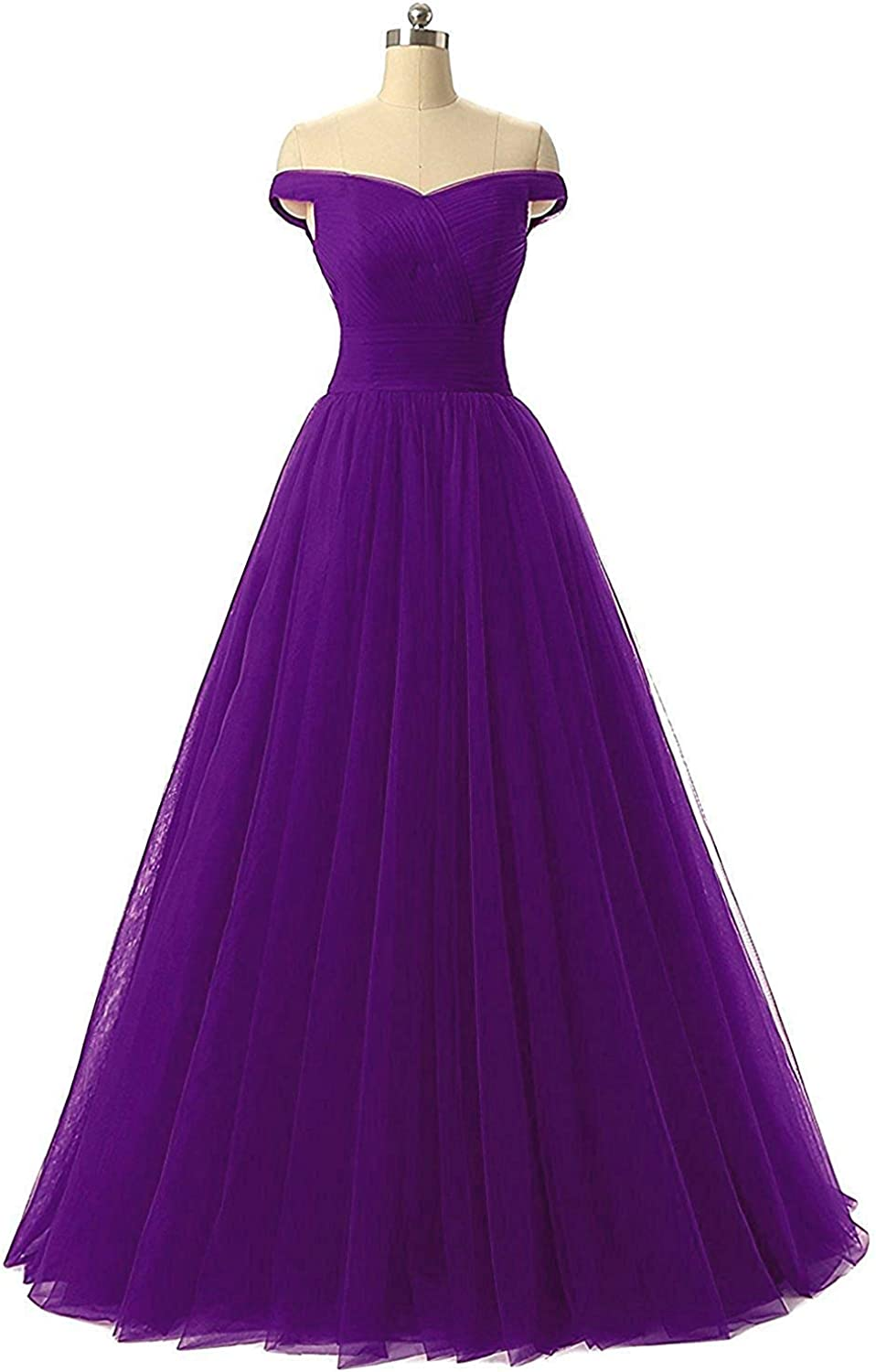 Diydress Aline Tulle Prom Formal Evening Homecoming Dress Ball Gown