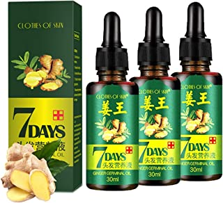 Sponsored Ad - 3 PACK Ginger Germinal Oil ,2020 Hair Growth Ginger Essential Oil Hair Growth Oil Hair Loss Treatment For W...